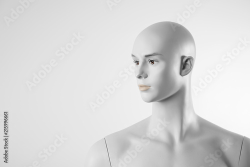 Photo White Male mannequin