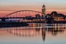 Deventer Bridges Over River IJ...