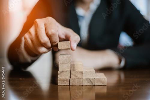 Fotografia, Obraz  plan and strategy in business