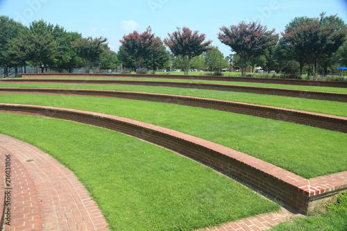 Photo Park Amphitheater greenspace