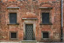 Door And Four Windows.