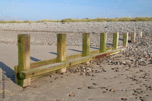 Beach Breakwater Canvas-taulu
