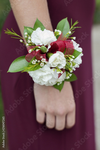 Fotografering Red Corsage