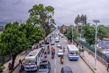 Kathmandu,Nepal 04.12.2018 Str...