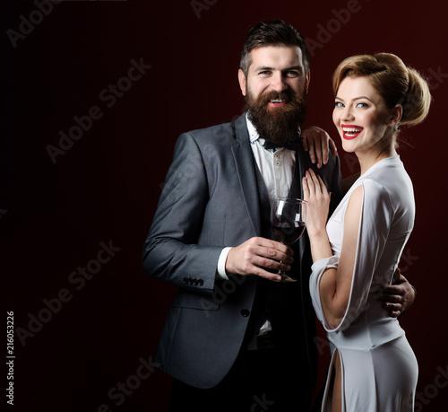 Fotomural Stylish couple