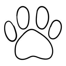 Monochrome Black And White Dog...