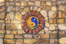 Mosaic Symbol Of Yin And Yang ...