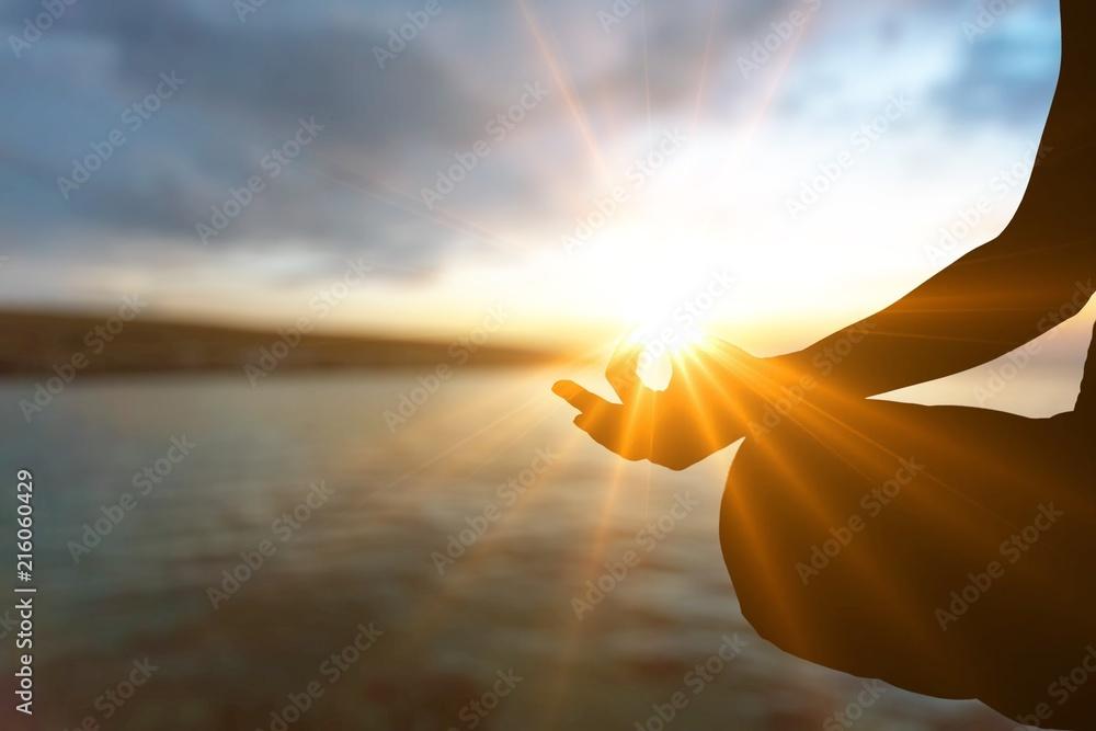 Fototapeta Meditate.