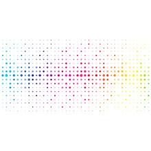 Kolorowe Kropki Tło Wektor