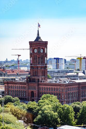 Plakat Czerwony Ratusz w Berlinie