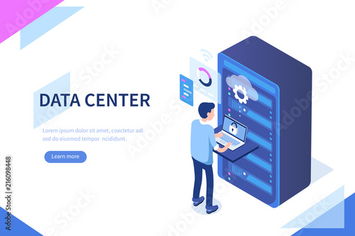 Fotografia data center
