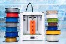 Color Plastic PLA And ABS Fila...