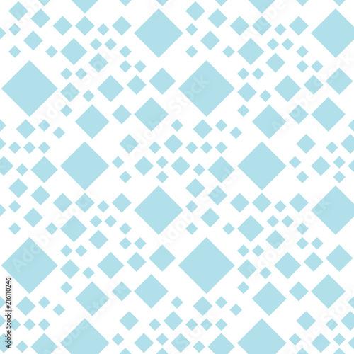 Fototapety geometryczne niebieskie-ukosne-kwadraty
