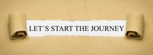 Let´s Start The Journey
