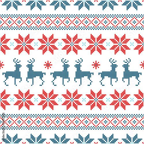 Plakaty skandynawskie pattern-skandynawskiego-folkloru