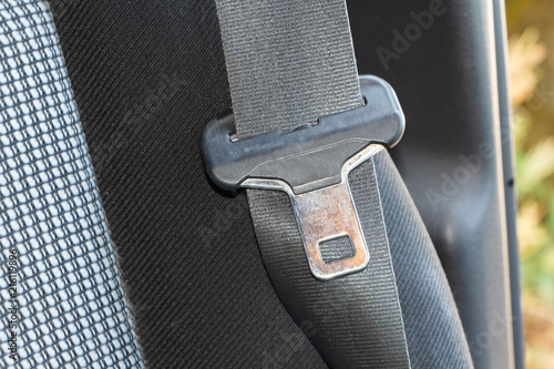 Fotografie, Obraz  Boucle de ceinture de sécurité
