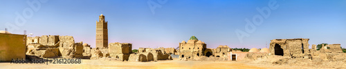 Recess Fitting Ruins Old town of Tamacine in Algeria