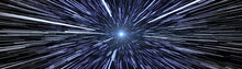 Stars Travel Hyperspace Wide S...