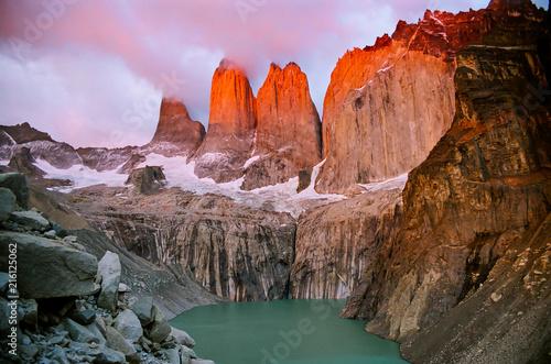 Fotografie, Obraz  Torres del Paine - Patagonia, Chile