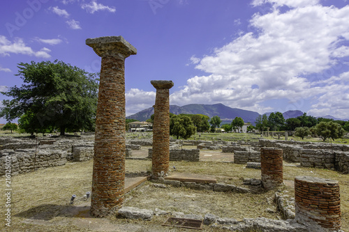 Fotografie, Obraz  Paestum Italy Temples