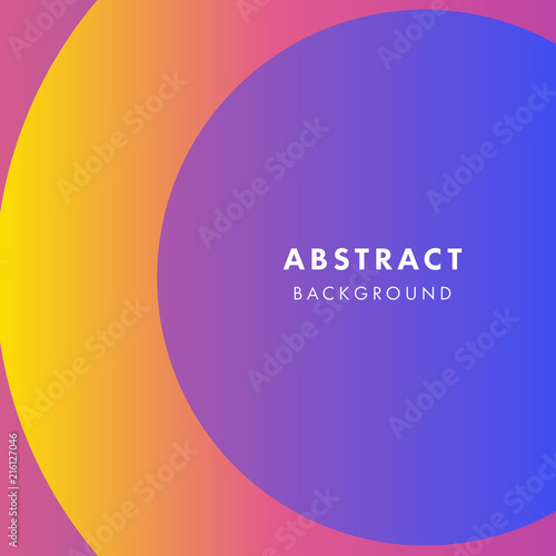 abstract background with flat dynamic ultra violet circle design