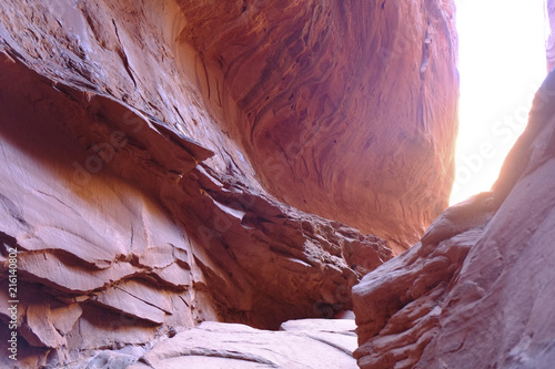 Foto op Aluminium Bordeaux Red Canyon