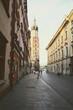 Street view of Krakow