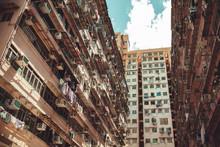Hong Kong Urban Architecture Background