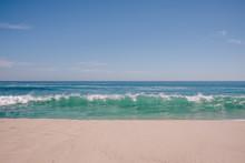 Waves Breaking On Beach, Australia