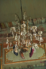 Chandelier With Shoes