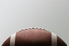 American Football Ball On Back...