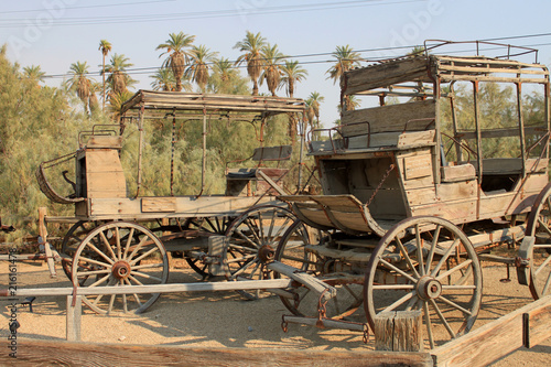 Photo Carrozza del vecchio west