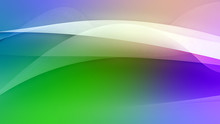 Colorful Abstract Curve Creative Texture Background (High-resolution 2D CG Rendering Illustration)