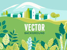 Vector Illustration In Simple ...