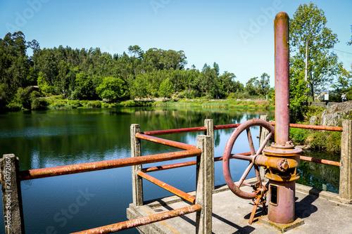 Fotografia  Barragem Duarte Pacheco, Rôge, Vale de Cambra, Paisagem de verão