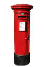 Post Box, Isolated In White Ba...