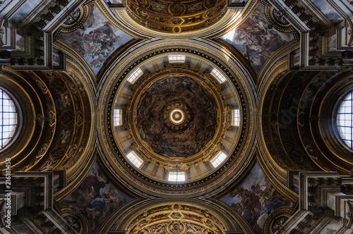 Obraz na plátně Roma, chiesa in piazza Navona