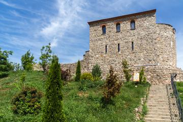 Fototapeta na wymiar Ruins of Ancient Byzantine fortress The Peristera in town of Peshtera, Pazardzhik Region, Bulgaria