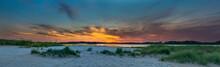 Sunset Over Bay - Chincoteague...