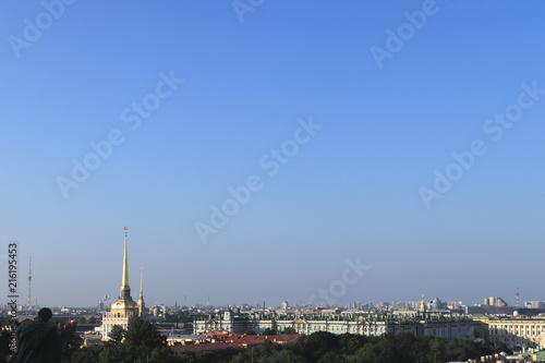 Fotografía  Clear sky cityscape
