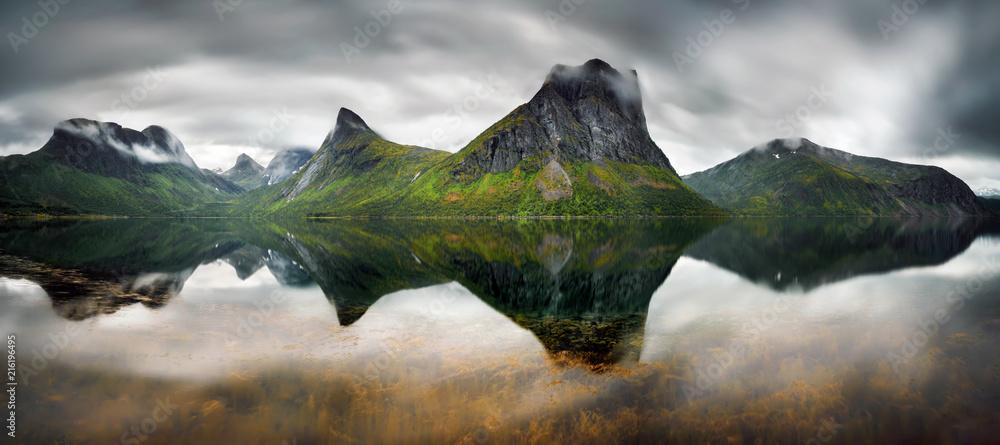 Fototapety, obrazy: Steinfjorden Panorama