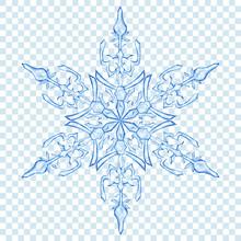 Big Translucent Christmas Snow...
