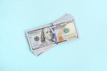 US Dollar Bills Of A New Desig...