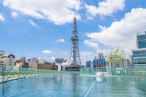 In de dag Stad gebouw 名古屋 水の宇宙船