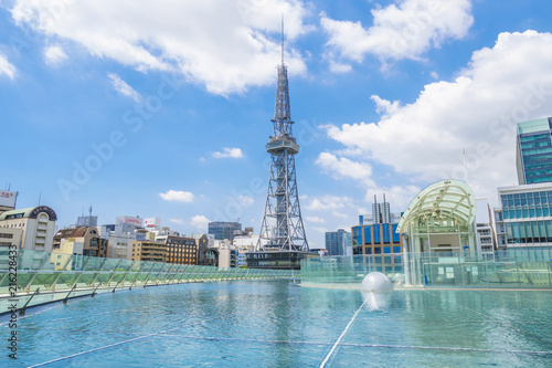Foto op Plexiglas Stad gebouw 名古屋 水の宇宙船