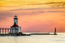 Michigan City Light And Chicag...