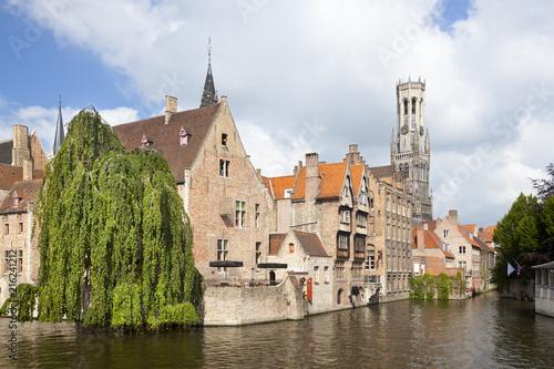 Deurstickers Brugge Rozenhoedkaai In Bruges
