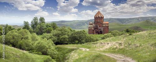 Fotografia  Armenia village Aruch Monastery Marmashen