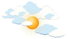 Clear Sunny Blue Sky