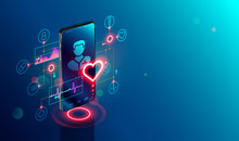 Online Tele Medicine Isometric...